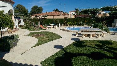 Casa de vacaciones l 39 ametlla de mar villa fuente casa de - Casas vacaciones cataluna ...
